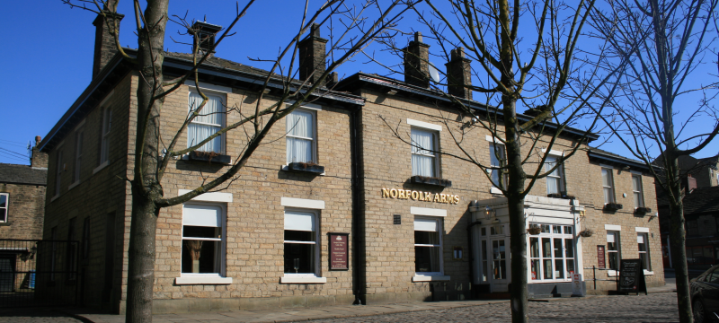 Norfolk Square - Norfolk Arms