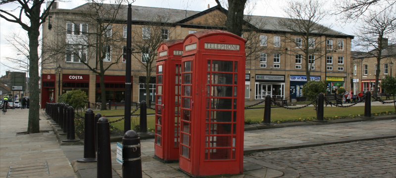 Norfolk Square - Telephone Boxes